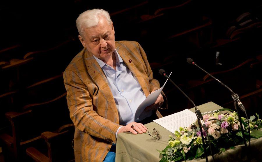 На 83 году жизни скончался народный артист СССР Олег Табаков