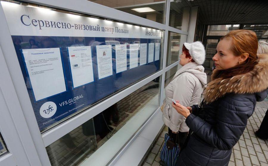 Все визовые центры Польши в России приостановят работу с 27 марта