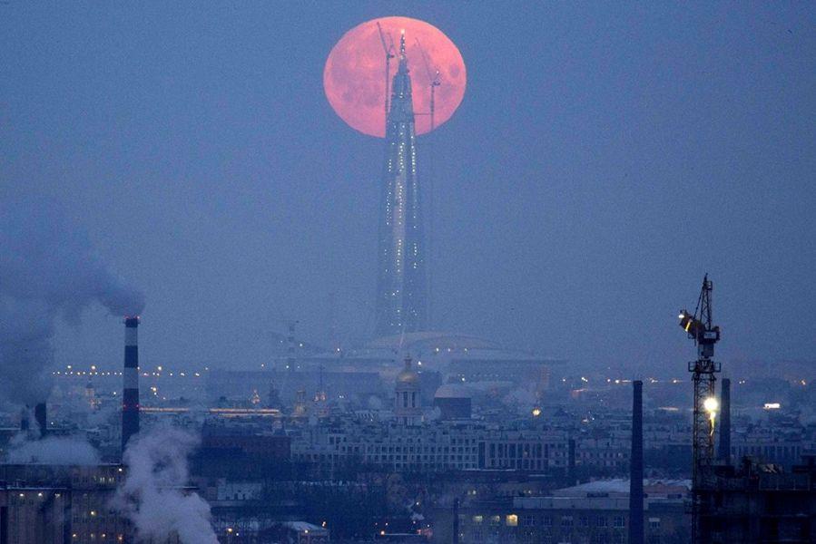 Лунное затмение 31января петербуржцы смогут увидеть втелескоп