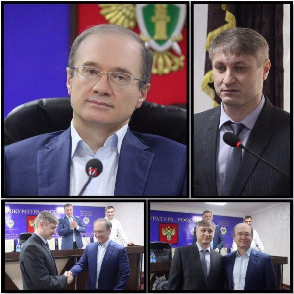 В Чечне проводили на пенсию прокурора Веденского района