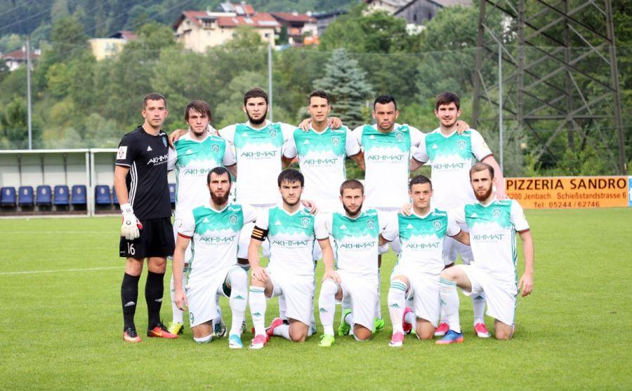 ФК «Ахмат» выиграл товарищеский матч с «Габалой»