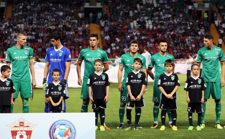 «Ахмат» – в тройке самых посещаемых клубов на домашних матчах