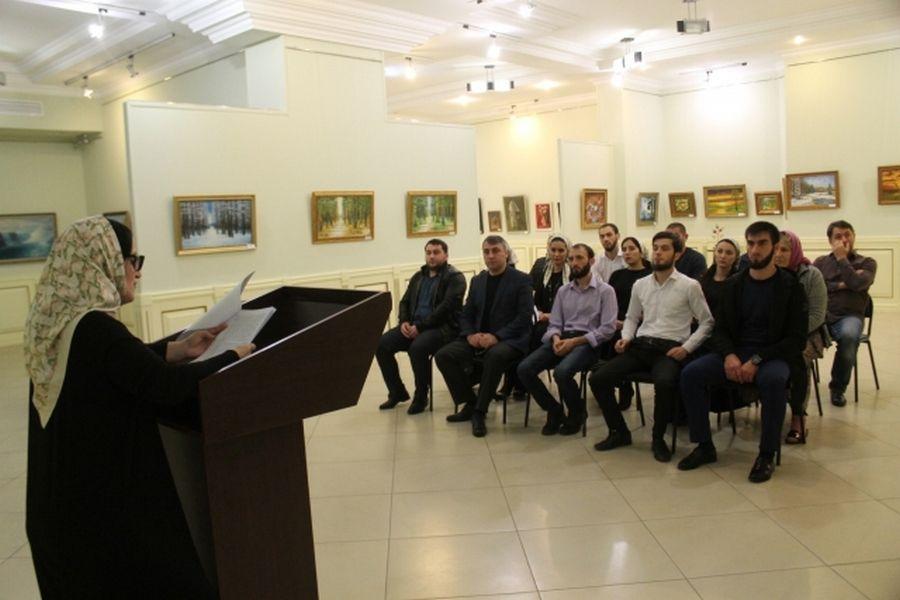 Сотрудники Государственной галереи им. А.А.Кадырова провели мероприятие к Международному дню против фашизма