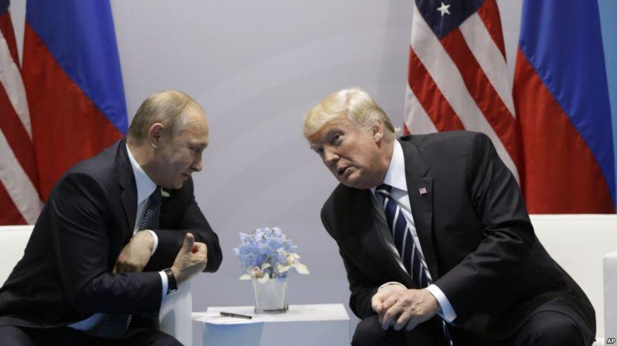 В. Путин: Трамп телевизионный очень сильно отличается от реального