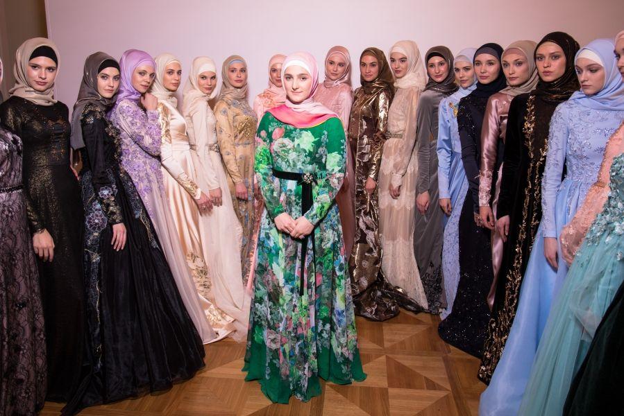 Коллекция Айшат Кадыровой вошла в пятёрку самых ярких брендов