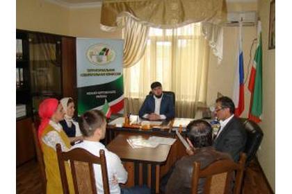 В Ножай-Юртовском районе обсудили вопросы, связанные с регистрацией избирателей