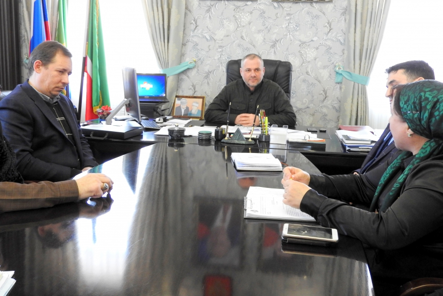 В Грозном обсудили методы выработки правовой культуры у жителей Шелковского района