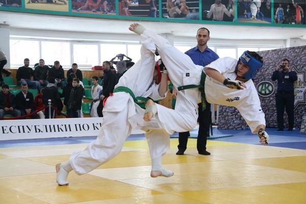В Грозном прошел открытый чемпионат Чеченской Республики по карате «киокусинкай»