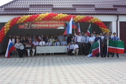 На фото: Участники открытия