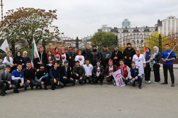 В Грозном прошла донорская акция «АвтоМотоДонор»