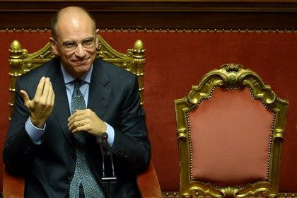 На фото: Премьер-министр Италии Энрико Летта
