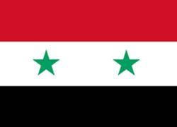 На фото: Флаг Сирии