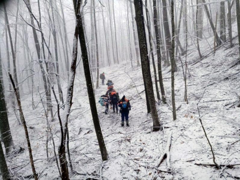 Спасатели провели в горах Чечни трехдневную тренировку