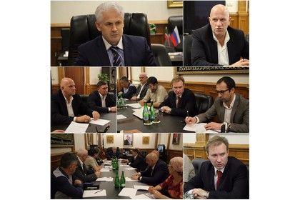 Муслим Хучиев встретился с инвесторами из Белгорода
