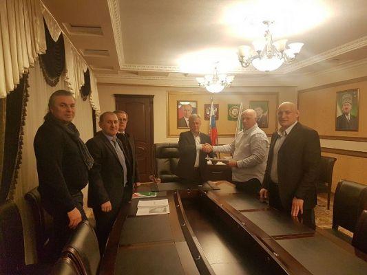В администрации Грозненского района обсудили проект строительства Индустриального парка «Магнус Грозный»