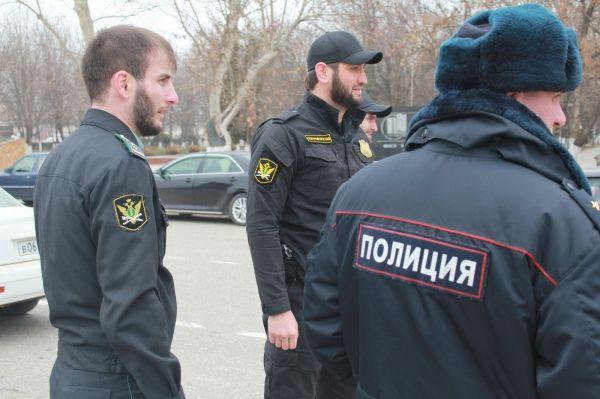 В Грозном прошел рейд по взысканию долгов с автовладельцев