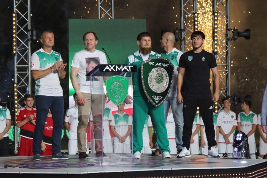 """Р. Кадыров: Лозунг """"Ахмат-сила!"""" стал для миллионов болельщиков призывом к новым победам"""