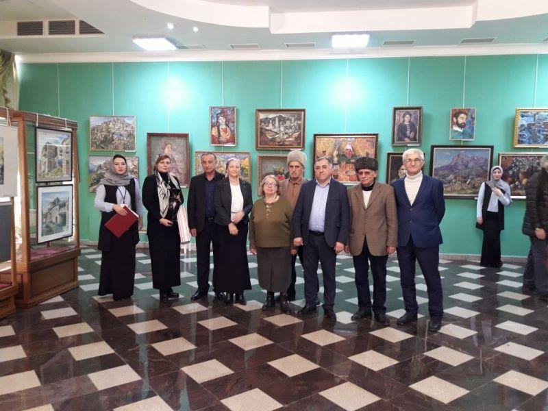 Картины дагестанских создателей выставлены в государственном музее Чеченской республики