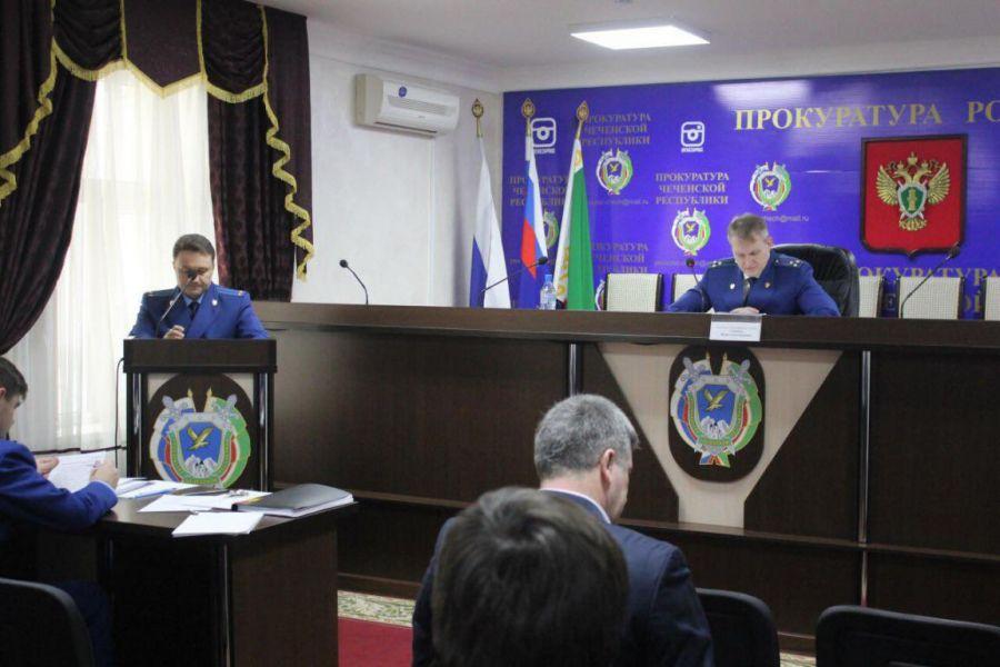 В Грозном обсудили меры противодействия правонарушениям в сфере ТЭК