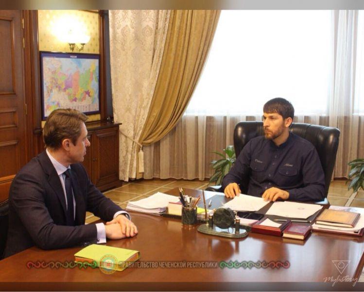 В Правительстве обсудили реализацию инвестиционных проектов в Чечне