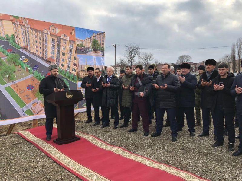 В Грозном построят крупный жилой комплекс
