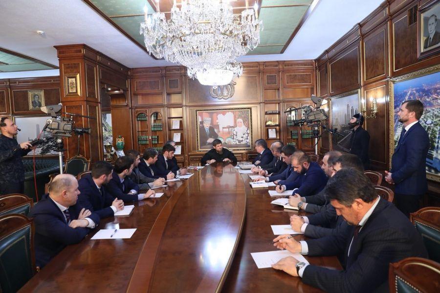 Р. Кадыров поднял вопросы развития экономики Чечни