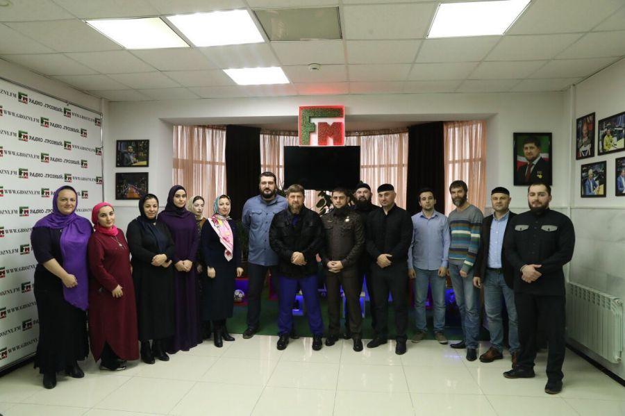 ВЧечне ответили нановости овстрече Кадырова сфигурантом уголовных дел