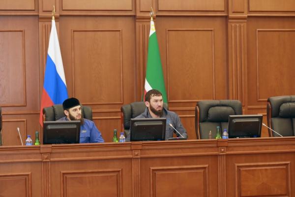Состоялось 5-е заседание Парламента Чеченской Республики