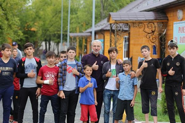 В Шалинском районе прошли военно-спортивные игры «Зарница» памяти Первого Президента ЧР