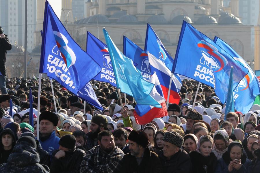 Выступление Р. Кадырова / Анзор Абуезидов