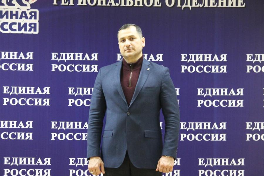 Адлан Динаев поблагодарил жителей республики за активное участие в выборах