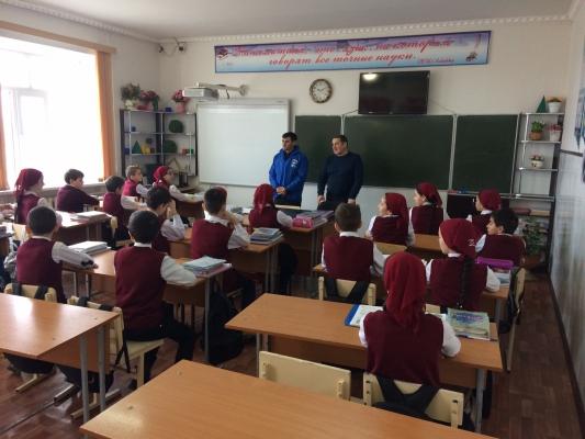 Единый урок «Доброта спасет мир» объединил школьников республики