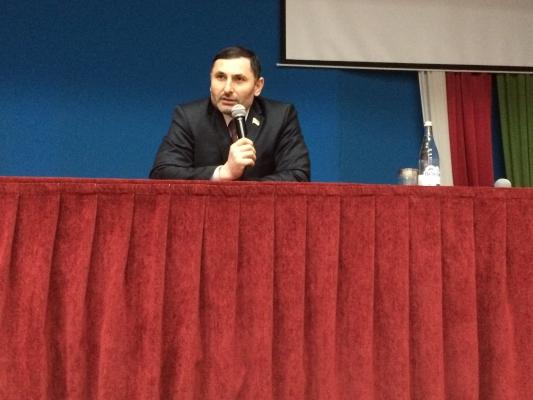 Аднан Нагаев посетил Президентский лицей г. Грозного
