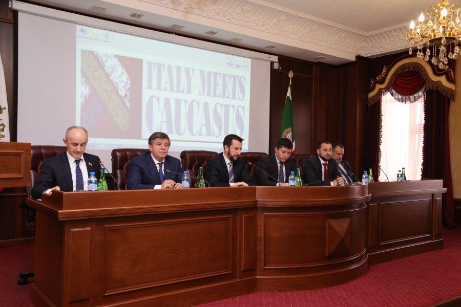 """Участники проекта """"Италия встречает Кавказ"""" побывали в Грозном"""
