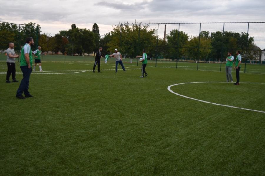 Сотрудники Миннац ЧР сыграли в футбол с журналистами республиканских СМИ