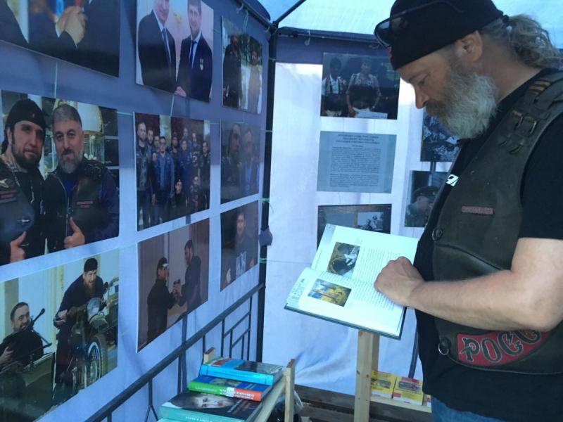 На байк-шоу в Севастополе представлена Чеченская Республика