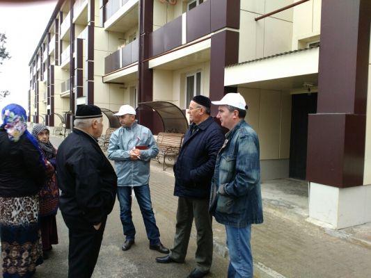 ОНФ в Чечне добивается устранения допущенных недочетов при ремонте дома в Серноводске