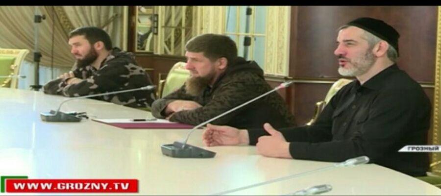 Рамзан Кадыров встретился с этническими чеченцами из Дагестана