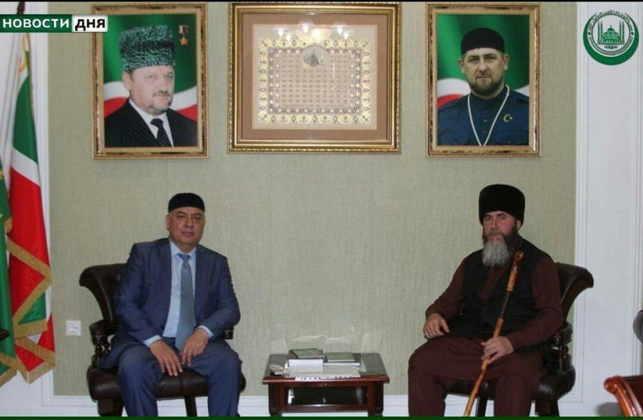 Муфтий Чечни встретился с председателем Верховного суда ЧР