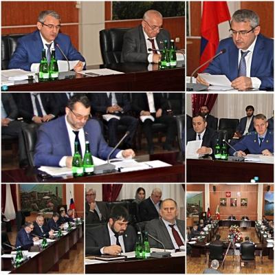 В Минфине Чечни состоялось заседание бюджетной комиссии