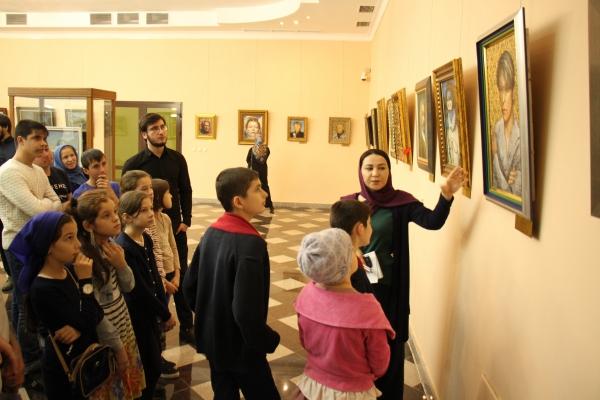 В Грозном прошла экскурсиядля детей сирот