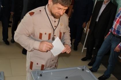 На фото: Глава Чеченской Республики Р.А. Кадыров / Адам Межиев