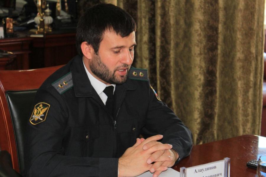 Главный судебный пристав ЧР Абдула Алаудинов провел пресс-конференцию для журналистов