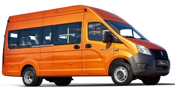 В Российской Федерации стартовали продажи микроавтобусов «ГАЗель Next»