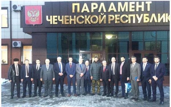 Магомед Даудов встретился с представительной делегацией из Черногории