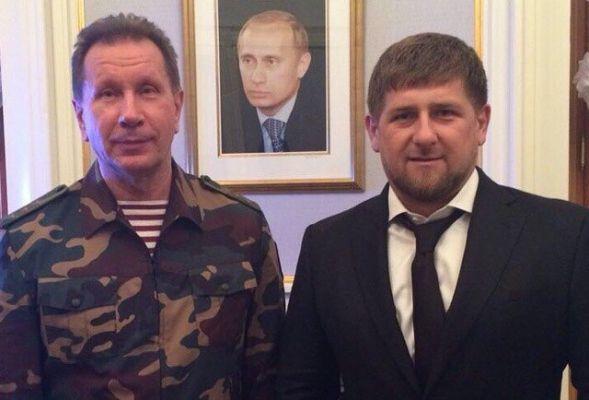 Рамзан Кадыров поздравил с днем рождения Главнокомандующего войсками Нацгвардии РФ Виктора Золотова
