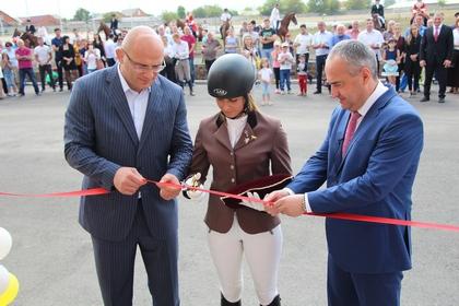 Конно-спортивная школа заработала вСеверной Осетии