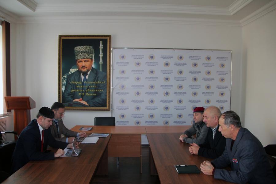 Исмаил Денильханов встретился с представителями Cоюза ветеранов Афганистана, локальных войн и военных конфликтов