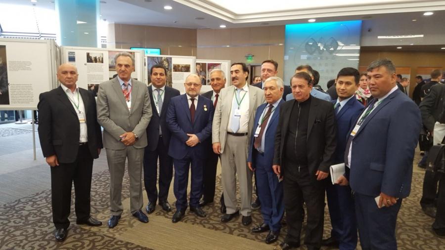Делегация ЧР участвует в Съездах Ассамблей народов Евразии и России