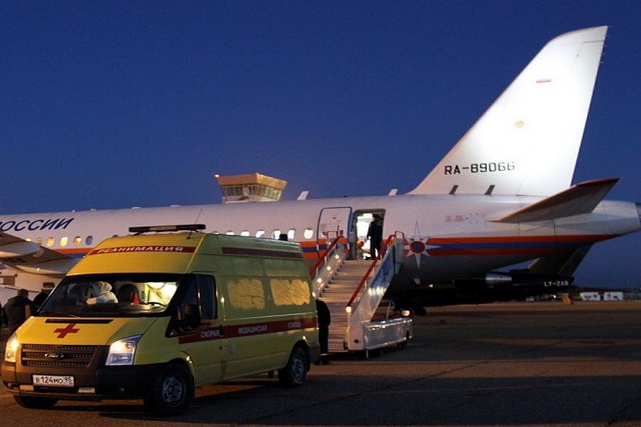 Борт МЧС доставил двоих тяжелобольных детей из Ставрополя и Грозного в Нижний Новгород